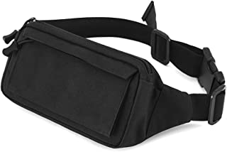 Outdoor Waist Bag Waterproof Running Belt Pack Fanny Pack Money Mobile Phone Key Pockets for Traveling Cycling,Leisure Sport, Traveling, Camping