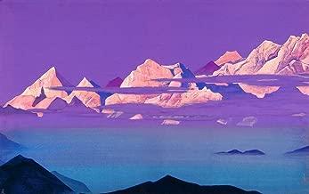 Nicholas Roerich Himalayas Circa 1933 Art Print