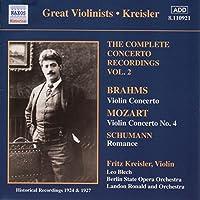 Mozart / Brahms : Violin Concertos