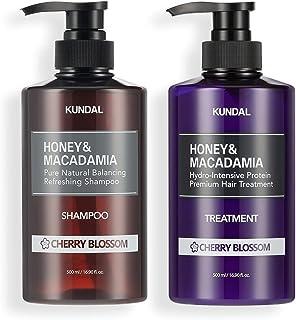 [KUNDAL公式]クンダル プレミアムヘアケアスペシャルセット チェリーブラッサム・シャンプー500ml&トリートメント500ml Premium Hair Care Special SET Cherry Blossom・アミノ酸・ノンシリコ...