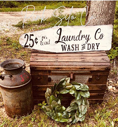 Ced454sy Vintage strijkplank teken wasbord wasgoed bedrijfsbord wassen en droog teken boerderij wasbord