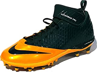 Lunar Super Bad Pro TD 534994-312 Men's Green Bay Packers Football Cleats 14 US