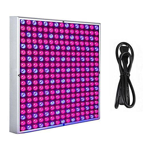 MCTECH 45 Watt 225 LEDs Rot&Blau LED-Pflanzenlampe Pflanzen Wachstumslampe Innengarten Pflanze Wachsen Licht Hängeleuchte Pflanzenleuchte Pflanzenlicht 2835 LED Chip 1.5m Kabellänge (45W)
