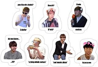 Story Storm Store BTS Memes/in Jokes Set 1 Stickers (3 Pcs/Pack)