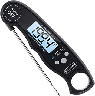 Waterproof Digital Meat Thermometers-Best Waterproof Instant Read Thermometer with Calibration and Backlight Functions - F...