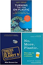 Turning the Tide on Plastic, There Is No Planet B, No More Plastic 3 Books Collection Set