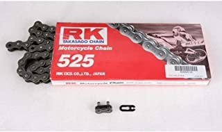 RK Racing Chain M525-114 '114-Links' Standard Motorcycle Chain
