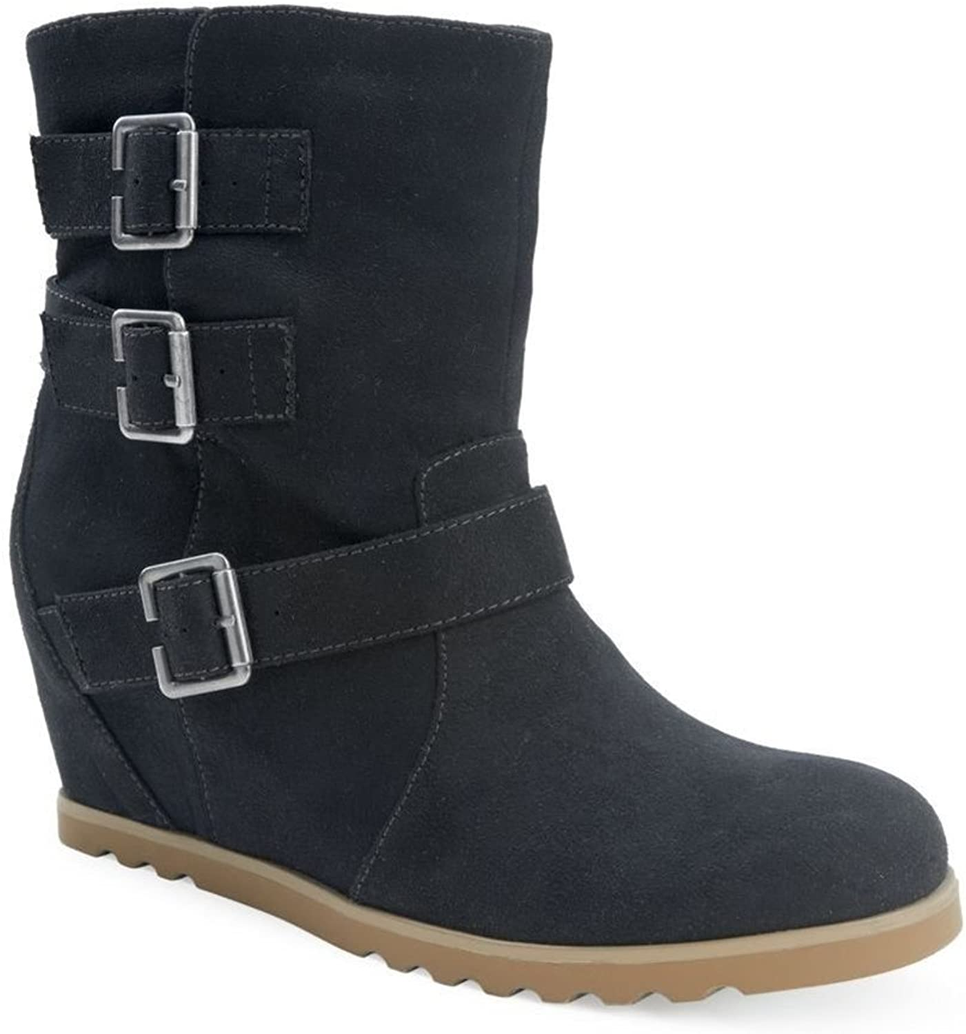 Aeropostale Womens Faux Suede Wedge Boots