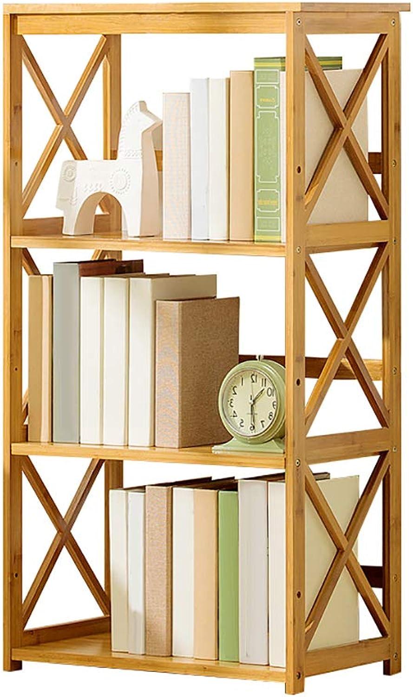 Caoyu Bookshelf shelf multi-layer floor large capacity storage shelf assembly bookcase Bookcase storage shelf (Size   H3-L70CM)