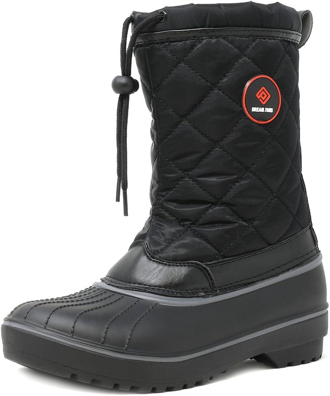 DREAM PAIRS Women's Hunter Mid Calf Winter Snow Boots