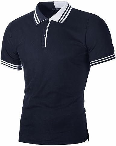 Camiseta Manga Corta para Hombre Verano Casual Camisas de ...