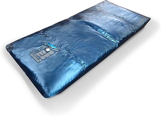 Aqua Sense Eine Wasserbett Matratze 100×220 für 200×220 Softside Wasserbett Dual Wasserkern Wassermatratze Wasserbettmatratze Mesamoll2® (0%…