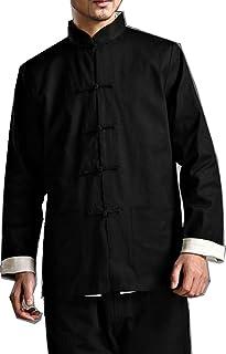 ZooBoo Kung Fu Jacket Both Sides Wear Tops Martial Arts Long Jersey