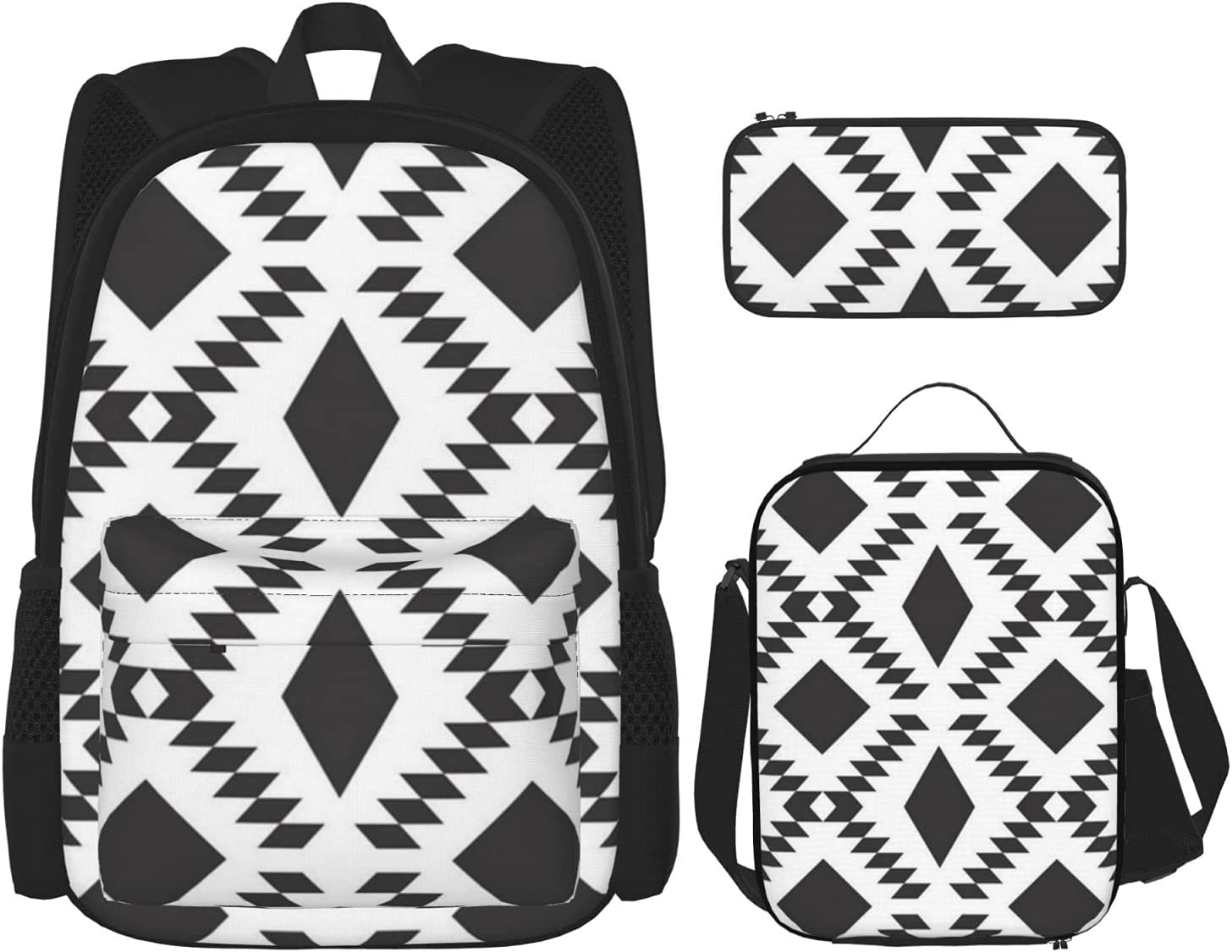 Black Diamond Fall Backpack with Pencil Box Insulated Outlet ☆ Free Regular store Shipping Lunch Case