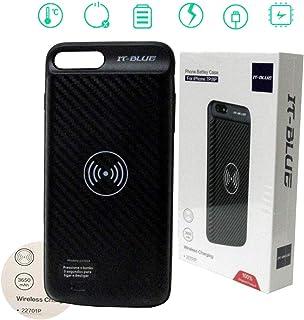 Case Capa Carregadora Sem Fio 22701p It-Blue Iphone 7 Plus 8 Plus Bateria
