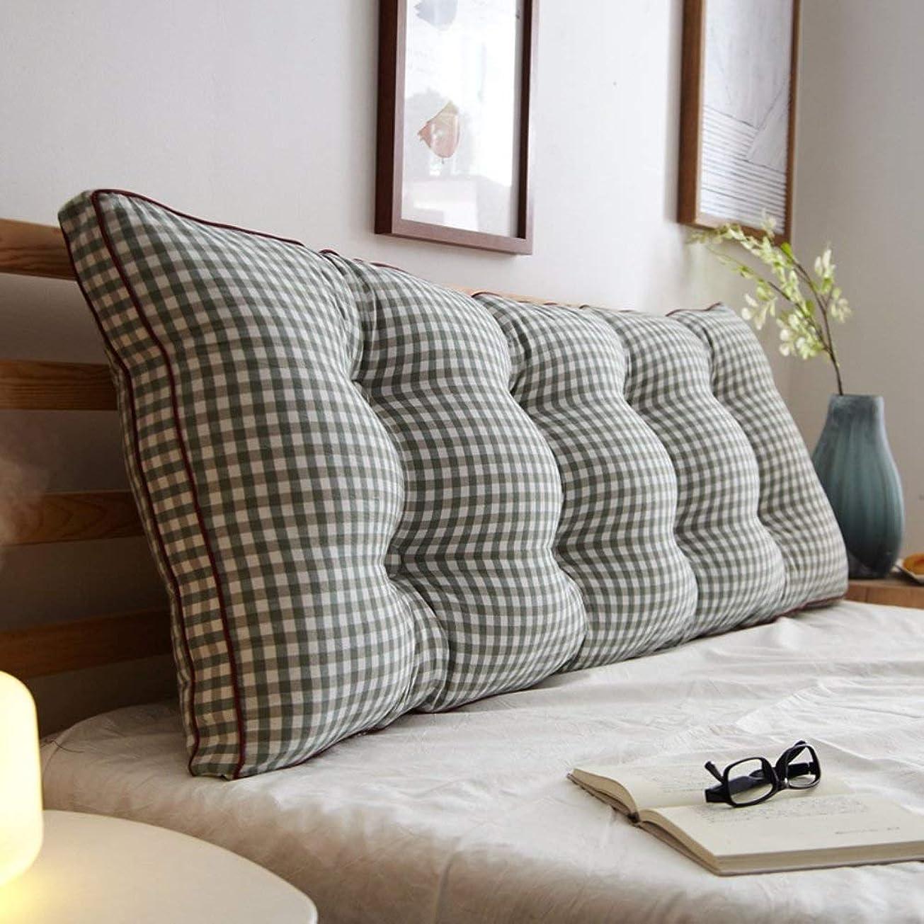 ラリーベルモントフレッシュ常に取り外し可能なベッドサイドバッククッション、ソファベッドの布張りをしたヘッドボード、ソフト畳ダブル大腰椎サポートクッション (Color : T, Size : 180x20x50cm(71x8x20inch))