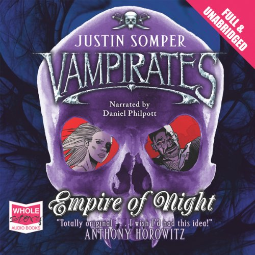 Empire of Night audiobook cover art