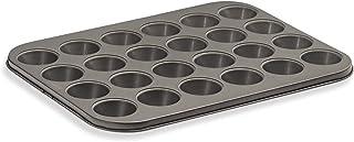 husMait 24 Cup Mini-Muffin Pan - Premium Kitchen Cupcake Pan for Baking Mini Cupcakes or Small Muffins