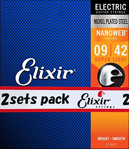 Elixir Nanoweb Electric Guitar Strings