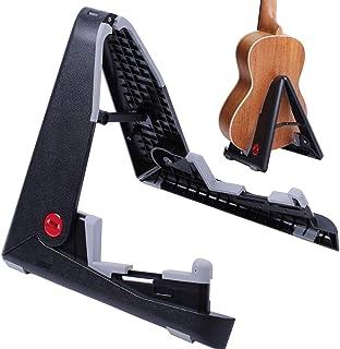 TinaWood Ukulele Violin Mandolin Stand Portable Adjustable Folding Space Saving Tripod for Plastic Ukelele Stand w/Pro Ext...