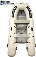 Inflatable Sport Boats Killer Whale 10.8' - Model 330 - Aluminum Floor Dinghy with Seat Bag