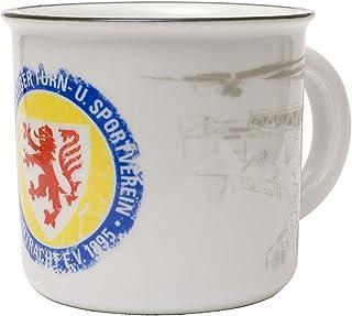 Entré brunsgräs kopp, bägare, kaffemugg retro