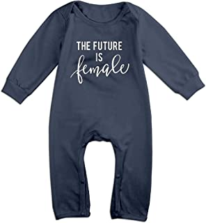 Baby The Future is Female Lightweight Long Sleeve Jumpsuit
