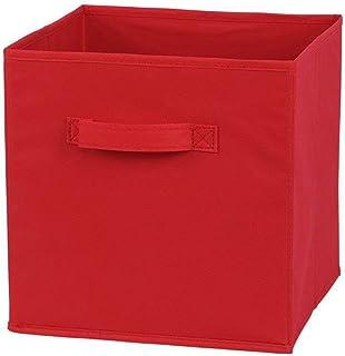 QiKun-Home Boîte de Rangement Pliante Non tissée ménage Enfants Jouet boîte de Rangement Bureau à Domicile Panier de Range...