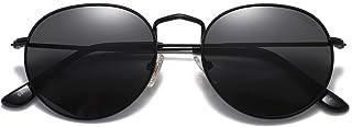 Small Round Polarized Sunglasses for Women Men Classic...