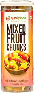 Nutriplato Dry Fruits Mix - Mixed Fruit Chunks (with only 11% Added Sugar) , 200 g