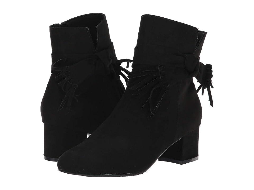 Soft Style Gypsie (Black Faux Suede) Women