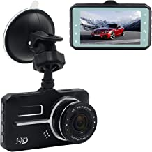 AMCSXH Full 1080P Car Camera DVR with 170 Degree Wide Angle, Driving DVR Recorder, 3.0 inch Wide Screen, Motion Detection, G-Sensor, Loop Recording, Parking Guard, WDR, Car Recording Camera