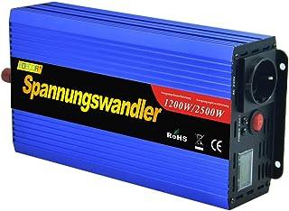 comprar comparacion EDECOA inversor 12v 220v Convertidor 1200w de Onda modificada transforma 12v a 220v con Pantalla LCD