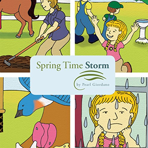 Spring Time Storm audiobook cover art