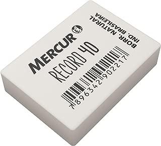 Borracha, Mercur B0101005-01, Branco, Pacote de 40