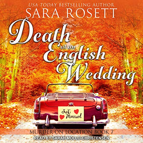 Death at an English Wedding audiobook cover art