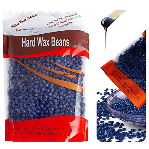 Hard Wax Beans,Wilder Full Body Hair Removal Brazilian Pearl Depilatory Waxing at Home for Women,Men,Chamomile(10.5oz)