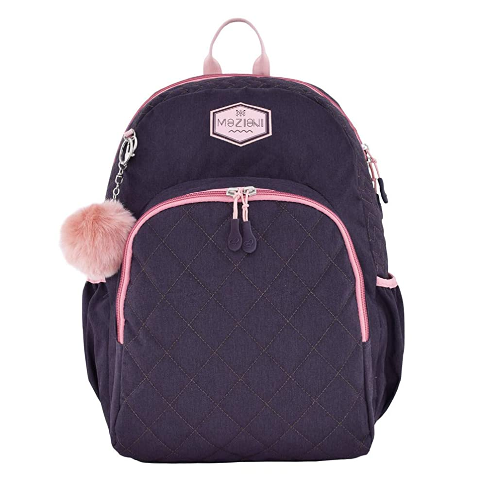 MOZIONI School Backpack, Purplish Mozioni Collection, Limited Edition.