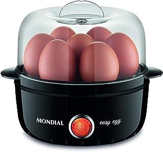 EG-01 - Steam Cook Easy Egg 220V - Mondial, MK Mondial Eletrodomesticos, Steam Cook Easy Egg 6830-02, Preto