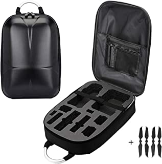 Drone Carrying Case Compatible for DJI Mavic 2 Pro/Zoom(DJI Smart Controller), Durable Drone Backpack with 2 Pairs of Mavic 2 Low Noise Propellers