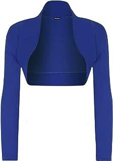 Womens Long Sleeve Shrug Bolero Cardigan