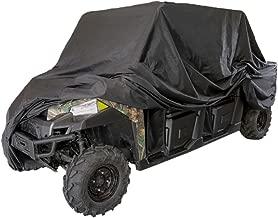 VVHOOY UTV Cover Waterproof All Weather Heavy Duty Oxford Utility Vehicle Storage Cover for Polaris RZR Pioneer Yamaha Honda Kawasaki Rhino Ranger Mule and More/ 114.17 x 59.06 x 74.80inch