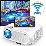 Best Android Projectors - Wireless WiFi Movie Projector, 2020 Upgraded DIWUER Mini Review