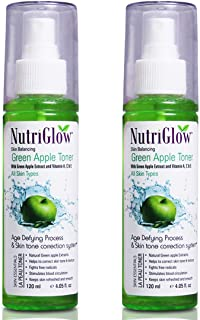 Nutriglow Skin Protection Green Apple Toner + Anti oxidant All Skin type/Women Skin care Treatment/Spray Toners