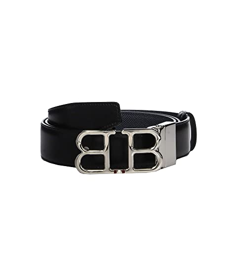 Bally Adjustable/Reversible Double B Belt