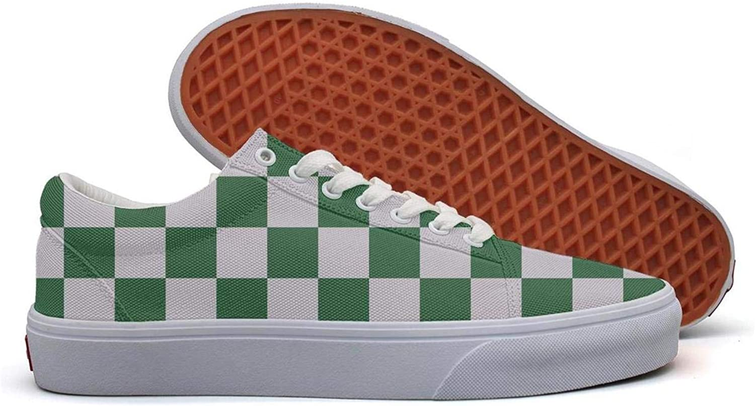 OIP Small Rhombuses Curve Checkerboard Men snaker Classic Casual Slip-on
