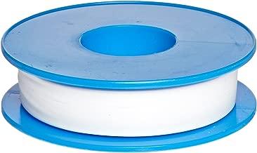 Dixon Valve TTC50 PTFE Industrial Sealant Tape, -212 to 500 Degree F Temperature Range, 3.5mil Thick, 1296