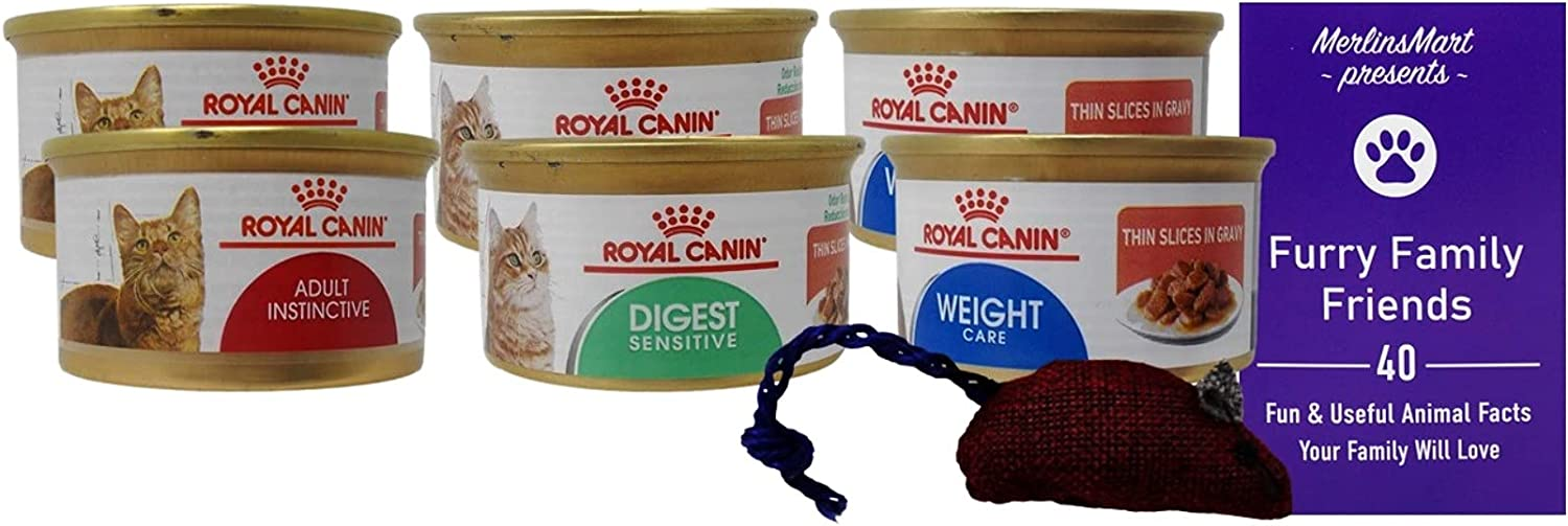 Royal Canin Slices in Gravy Cat Mail order Food Can Sampler 6 Online limited product Flavor 3 2