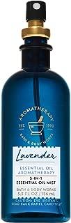 Bath & Body Works Aromatherapy Lavender 5-in-1 Essential Oil Mist, 5.3 Fl Oz