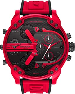 Mr Daddy Three-Hand Silicone Watch